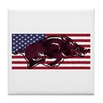 Ameri-hog Tile Coaster