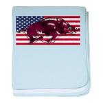 Ameri-hog baby blanket