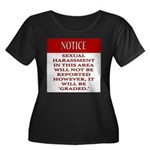 Femdiom NOTICE repo... Plus Size T-Shirt