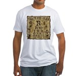 Pirate Eye Exam Fitted T-Shirt