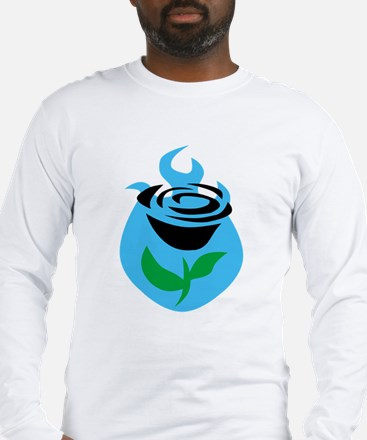 halo reach flower Long Sleeve T-Shirt
