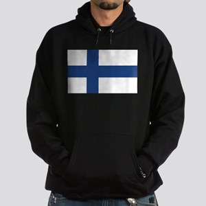 Finland Flag Hoodie (dark)