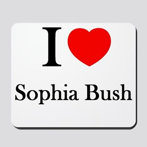 I love Sophia Bush Mousepad