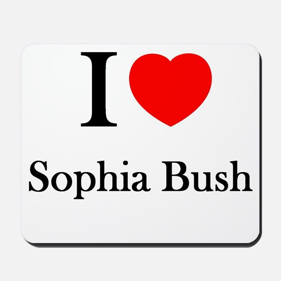 I love Sophia Bush Mousepad