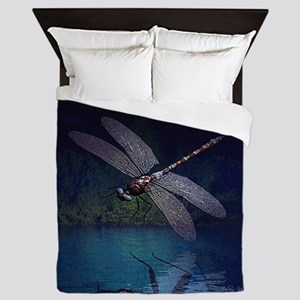 dragonfly10asq Queen Duvet