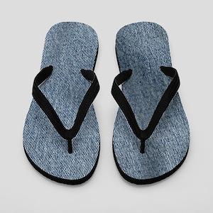 Look of Denim Flip Flops