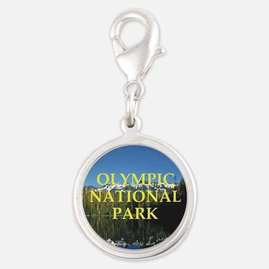 ABH Olympic NP Silver Round Charm