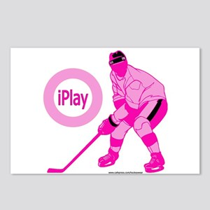 I Play Hockey Postcards (Package of 8)