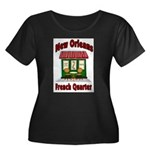 New Orleans French Quarter 2 Plus Size T-Shirt