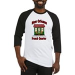 New Orleans French Quarter 2 Baseball Jersey