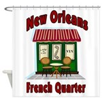 New Orleans French Quarter 2 Shower Curtain