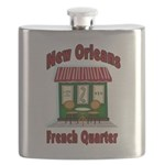 New Orleans French Quarter 2 Flask