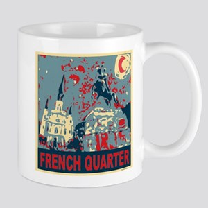 french-quarterbluessq Mug