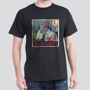 french-quarterbluessq T-Shirt