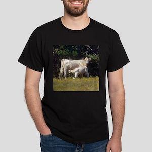 cow and calf Dark T-Shirt