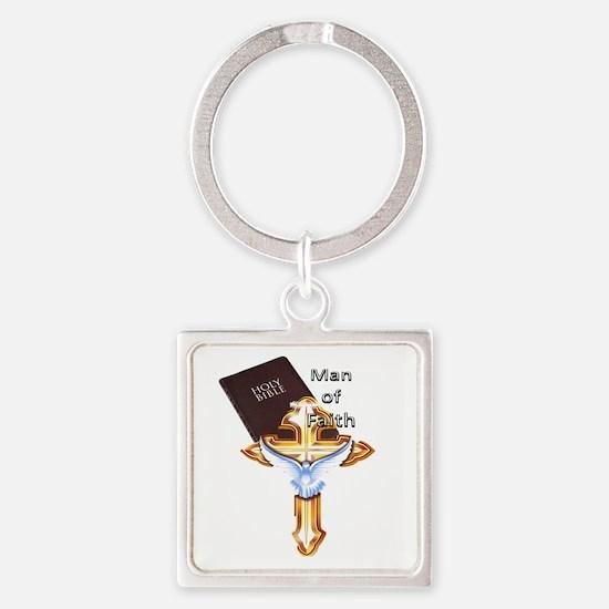 Man of Faith crossbearer Keychains