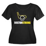 Boston Strong Neon Plus Size T-Shirt