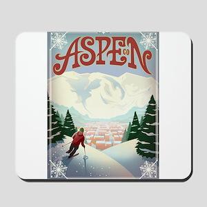 Aspen Paradise Mousepad