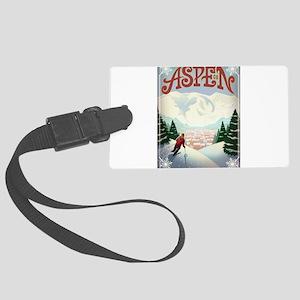 Aspen Paradise Large Luggage Tag