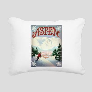 Aspen Paradise Rectangular Canvas Pillow