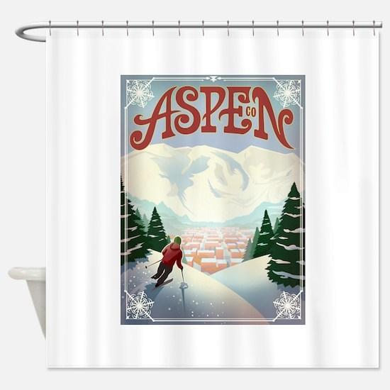 Aspen Paradise Shower Curtain