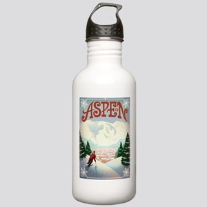 Aspen Paradise Stainless Water Bottle 1.0L