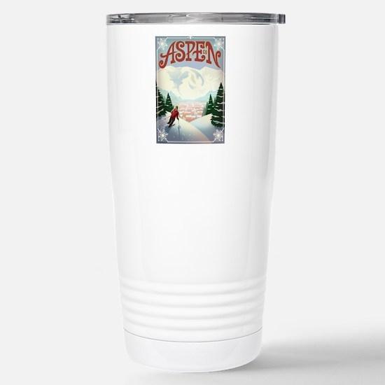 Aspen Paradise Stainless Steel Travel Mug