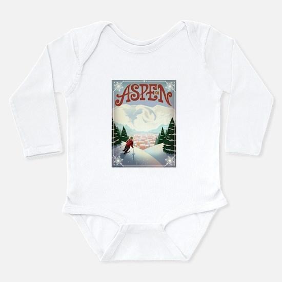 Aspen Paradise Long Sleeve Infant Bodysuit