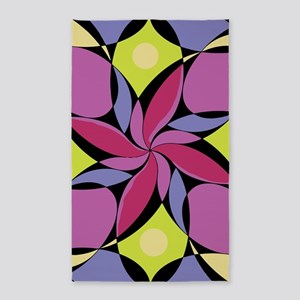 Geometric Design #9 3'x5' Area Rug