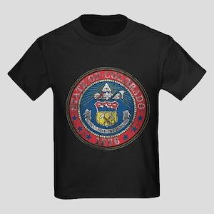 Aged Colorado Seal Kids Dark T-Shirt