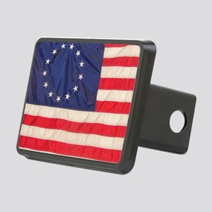 AMERICAN COLONIAL FLAG Rectangular Hitch Cover