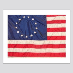 AMERICAN COLONIAL FLAG Small Poster