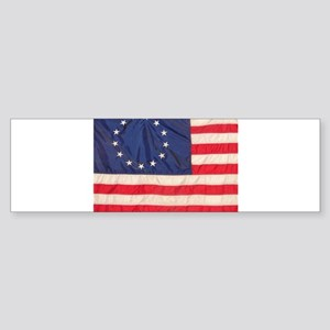 AMERICAN COLONIAL FLAG Sticker (Bumper)