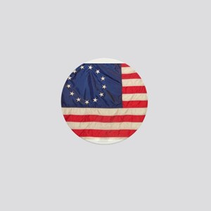 AMERICAN COLONIAL FLAG Mini Button