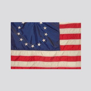 AMERICAN COLONIAL FLAG Rectangle Magnet