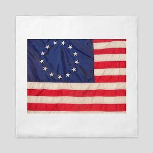 AMERICAN COLONIAL FLAG Queen Duvet