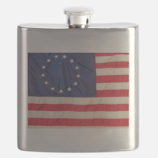 AMERICAN COLONIAL FLAG Flask