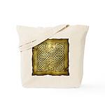 Celtic Letter H Tote Bag