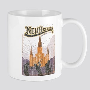 Faded French Quarter Mug