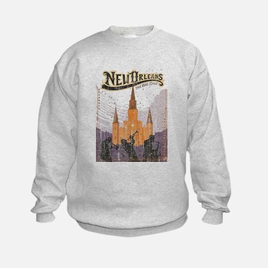 Faded French Quarter Sweatshirt