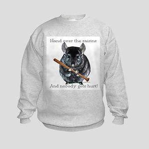 Chin Raisin Kids Sweatshirt