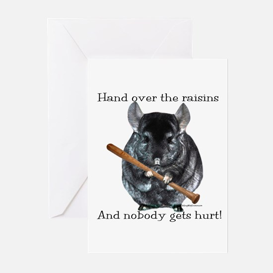 Chin Raisin Greeting Cards (Pk of 10)