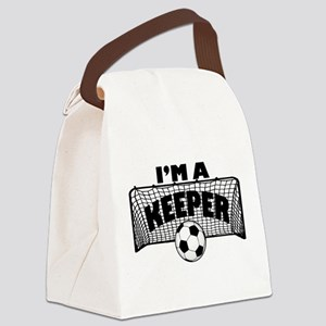 Im a Keeper soccer copy Canvas Lunch Bag