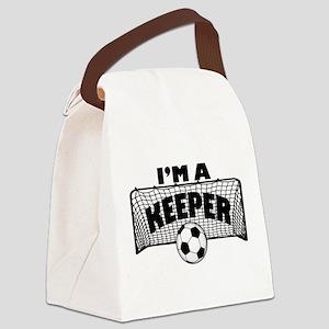 Im a Keeper soccer copy Canvas Lunch Bag