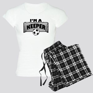 Im a Keeper soccer copy Pajamas