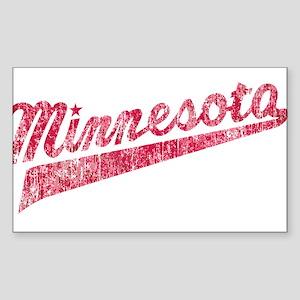 Faded Minnesota Sticker