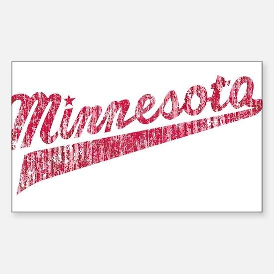 Faded Minnesota Decal