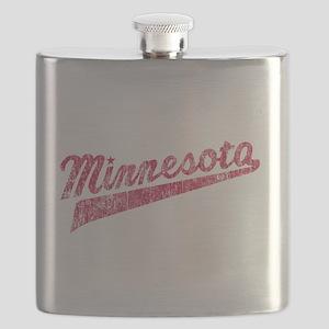 Faded Minnesota Flask