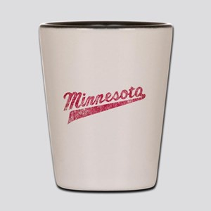 Faded Minnesota Shot Glass