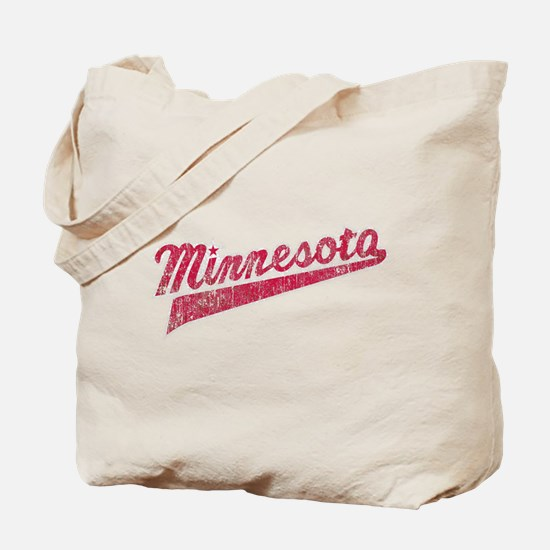 Faded Minnesota Tote Bag